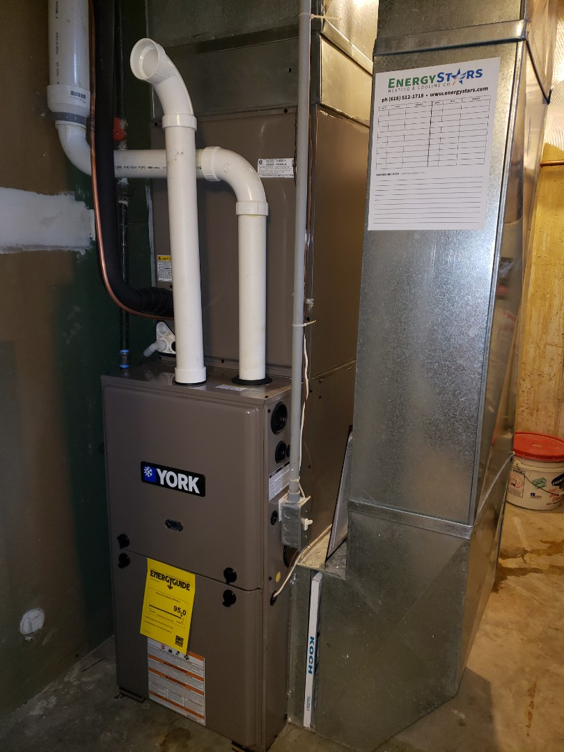 Installing 2 systems, 1st system 95% high efficiency furnace and A/C. With a humidifier. 2nd system high efficiency heat pump and air handler.
