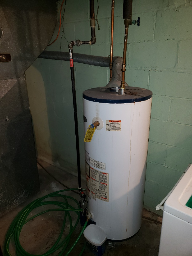 Replacing a condemned water heater