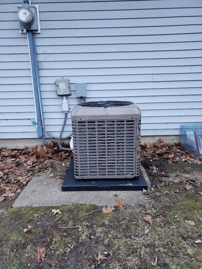 Installing 95% high efficiency furnace and A/C