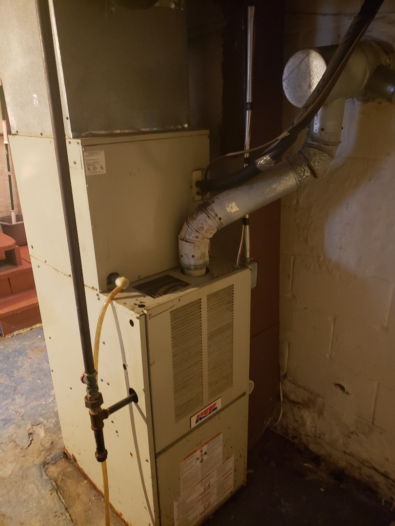 Replacing a old condemned heil gas furnace