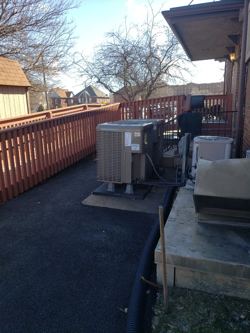 Checking a comfort issue with a high efficiency heat pump