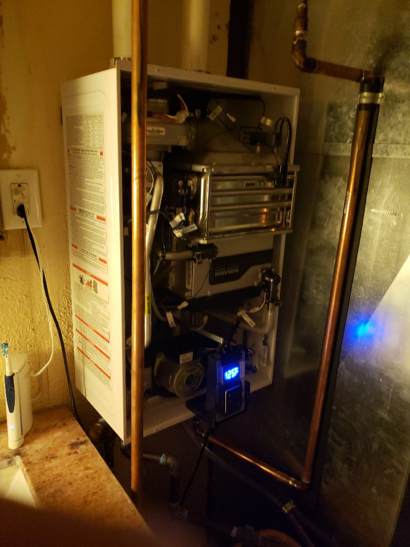 Checking out a tankless water heater