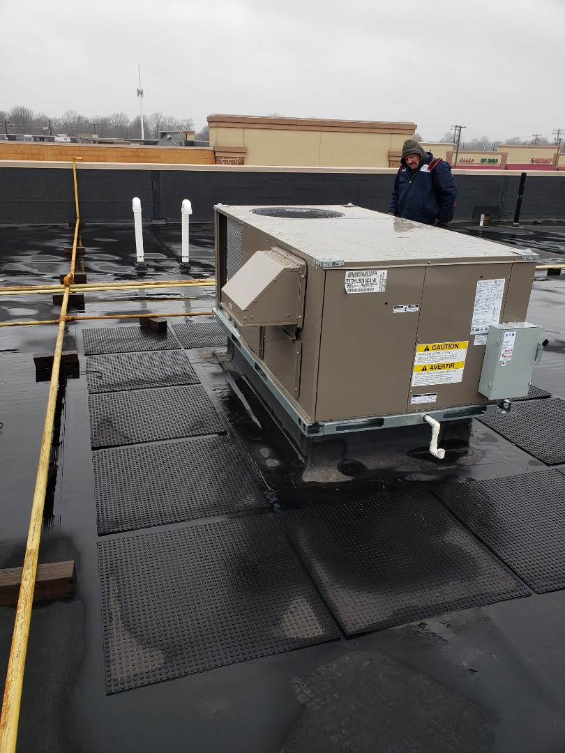 Start up and commissioning commercial top units