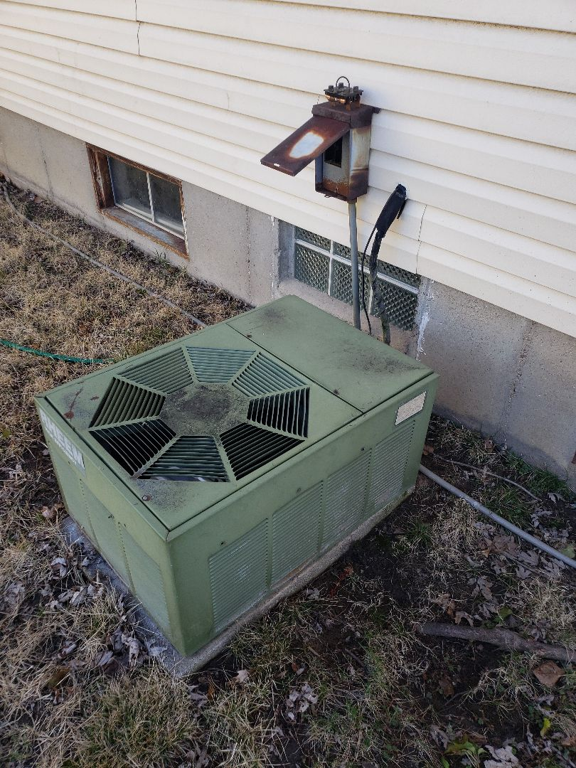 Replacing a old heating and cooling system