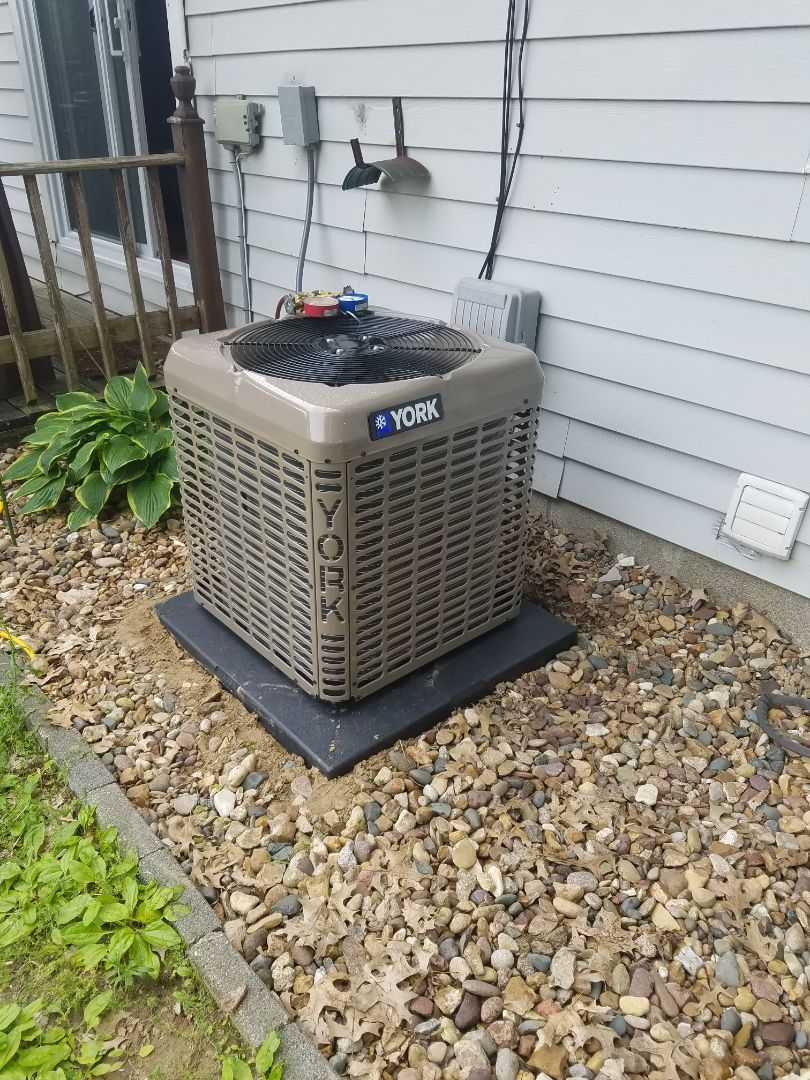 Installed new High efficiency York system