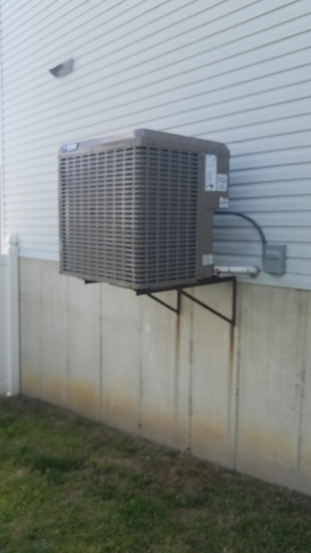 Installed new High Efficiency rated complete HVAC System