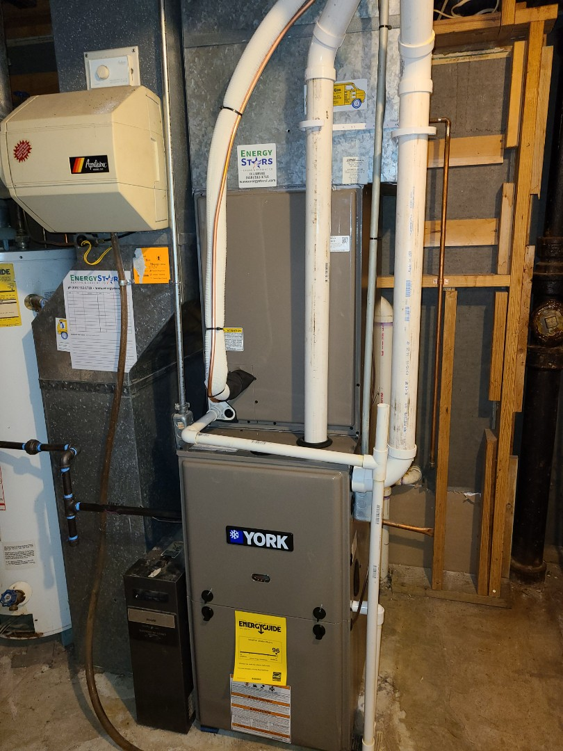 Installing full York system. 96% furnace, variable speed with 3.5 ton A/C and coil.