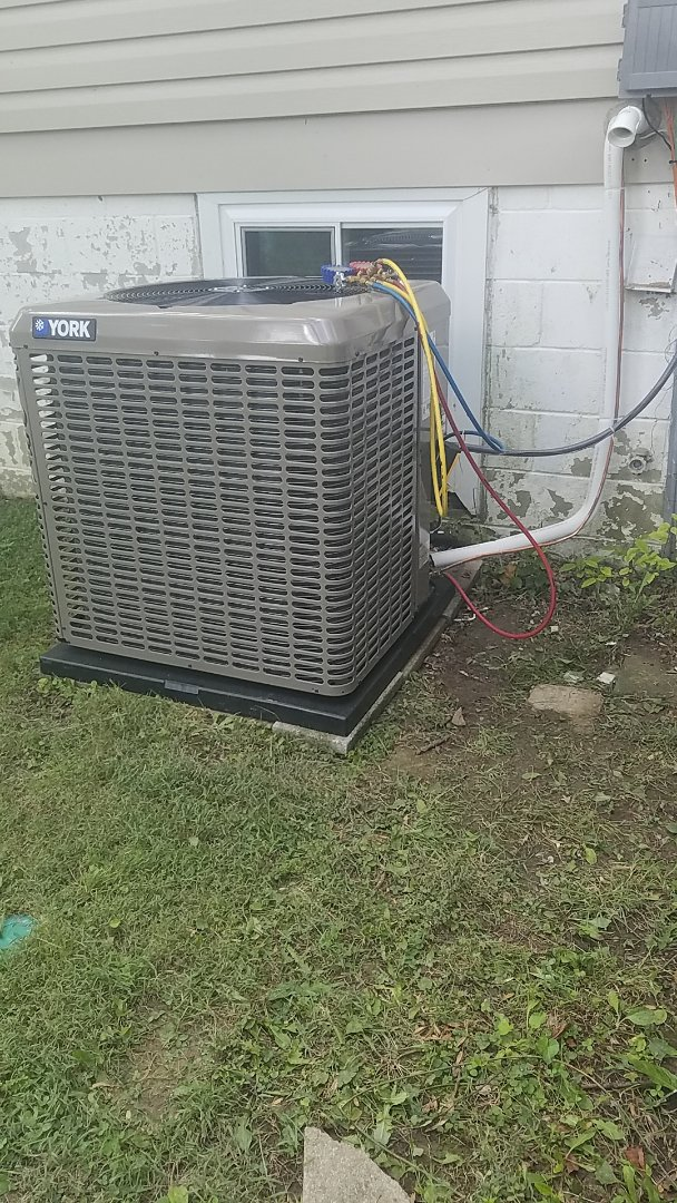Installed new York Airconditioner