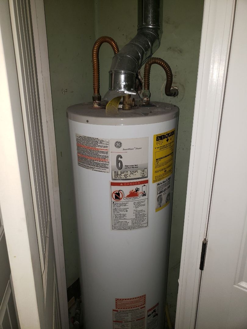 Replacing a hot water heater