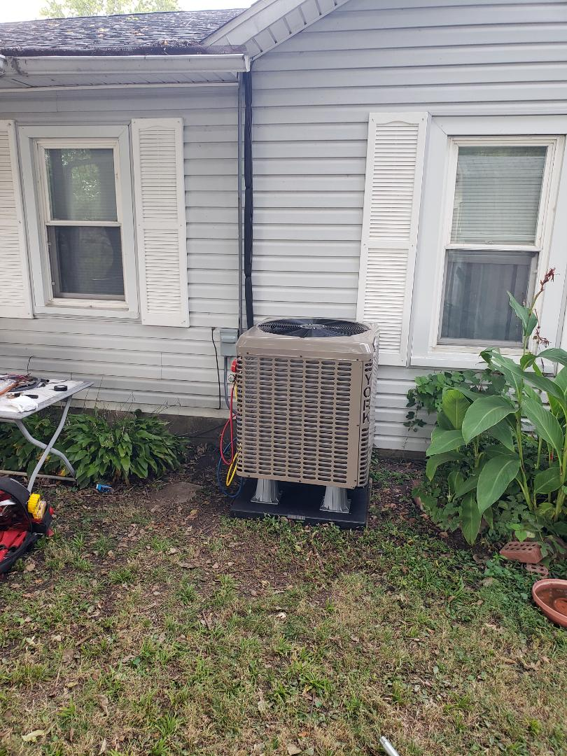 Finished installing a new high efficiency duel fuel hvac system
