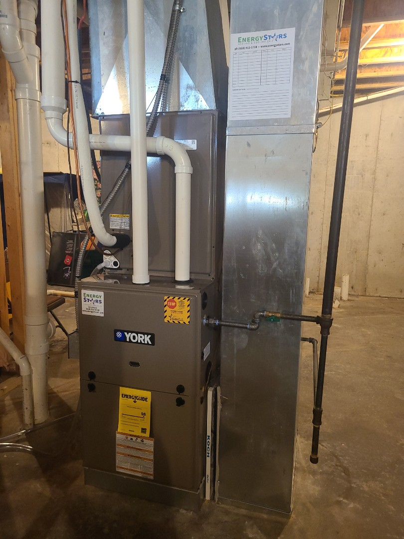 Installing full dual fuel York system. 96% furnace with 4 ton Heat pump with matching coil.