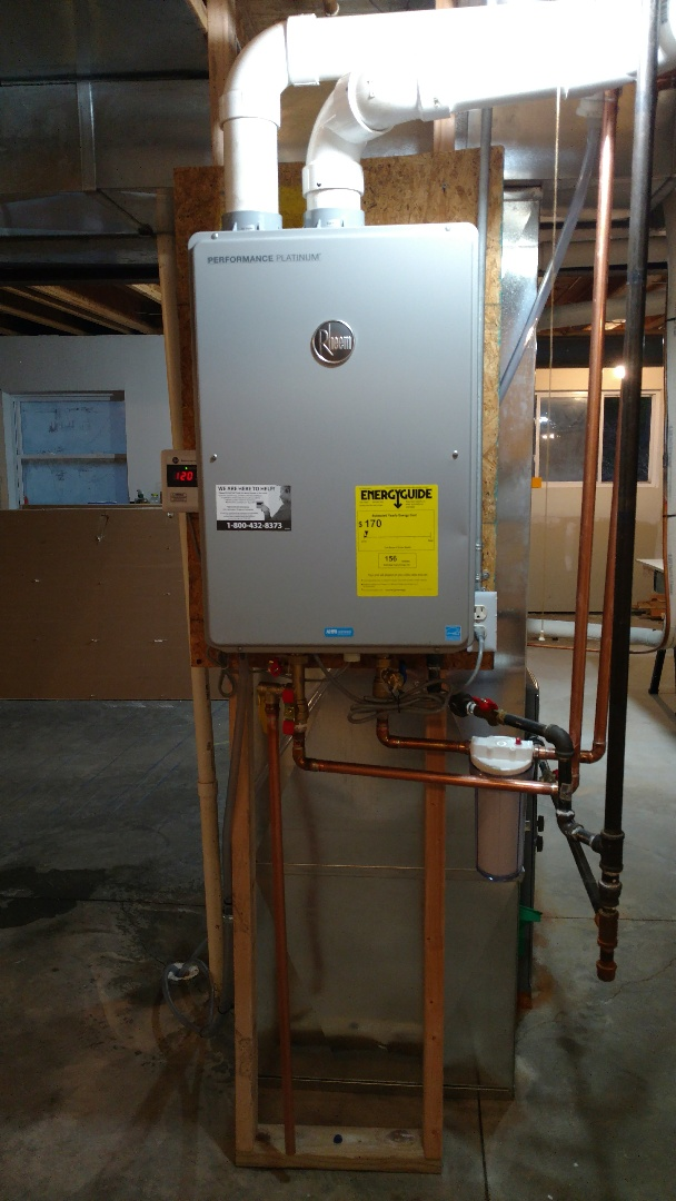 O'Fallon, IL - Installed a tankless hot water heater