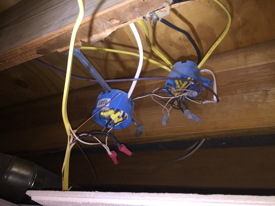 Creal Springs, IL - Electrician needed to correct open splices.