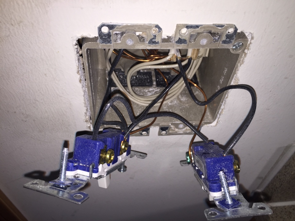 Sesser, IL - Electrician needed to replace all the switches, ground fault circuit interrupters and receptacles throughout the home because of back-stabbed connections in a modular home.