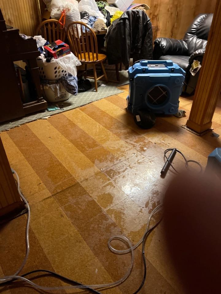 Huntsville, AL - Water pipe burst