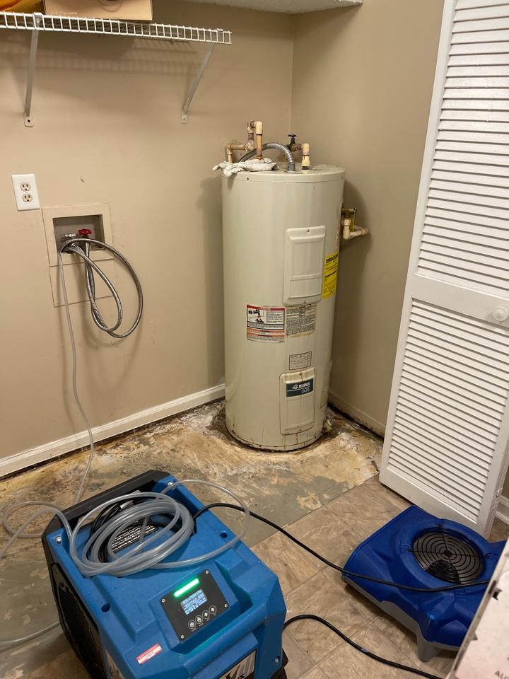 Madison, AL - Water heater leak