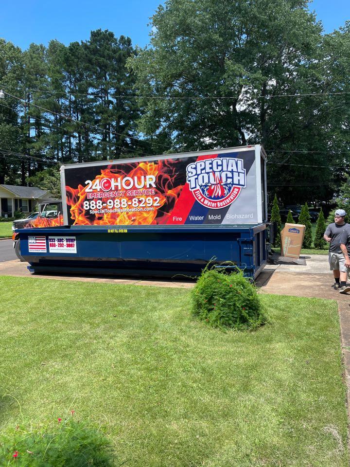 Huntsville, AL - Packing and demolition Day - Fire Damage