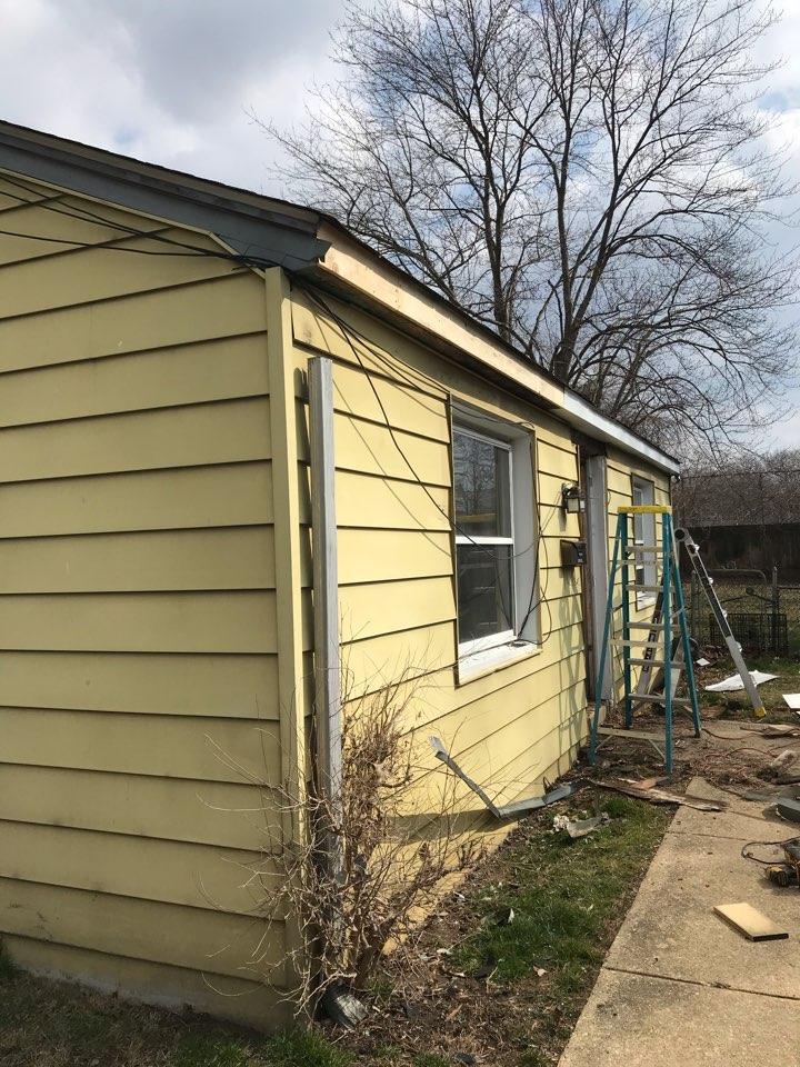 Wilmington, DE - replacing bad wood and installing new boards
