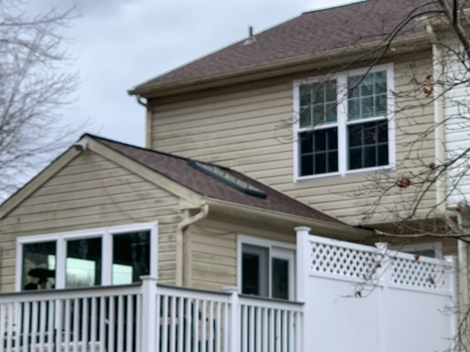 Newark, DE - Roof Replacement - GAF Timberline HDZ 50 year lifetime Hickory shingles with two new skylights