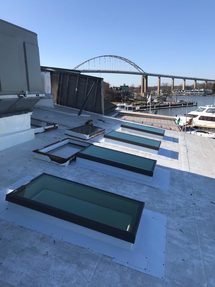 Chesapeake City, MD - Installing new skylights
