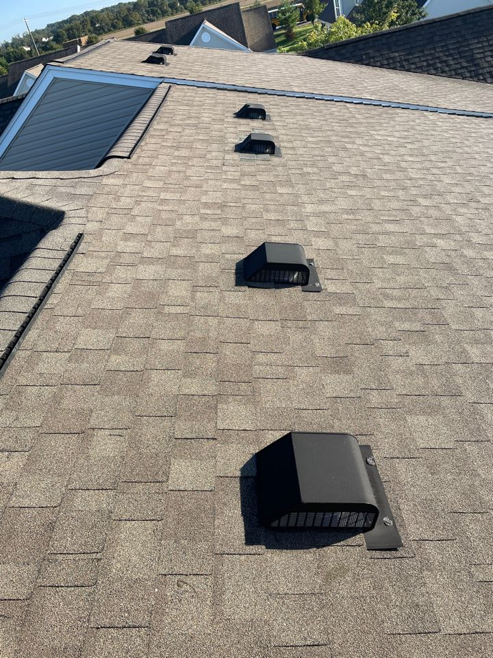 Middletown, DE - Roof vent replacement and ridge vent replacement
