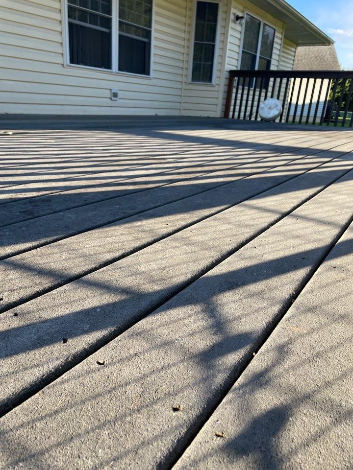 Middletown, DE - Deck replacement estimate trex