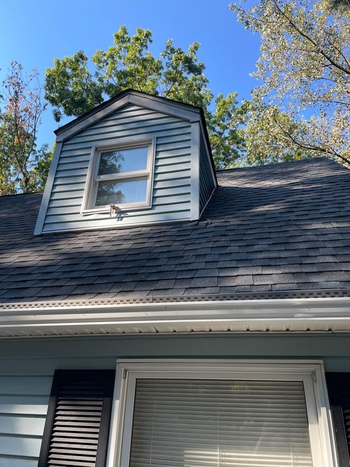 Elkton, MD - Reflash dormer and replace shingles