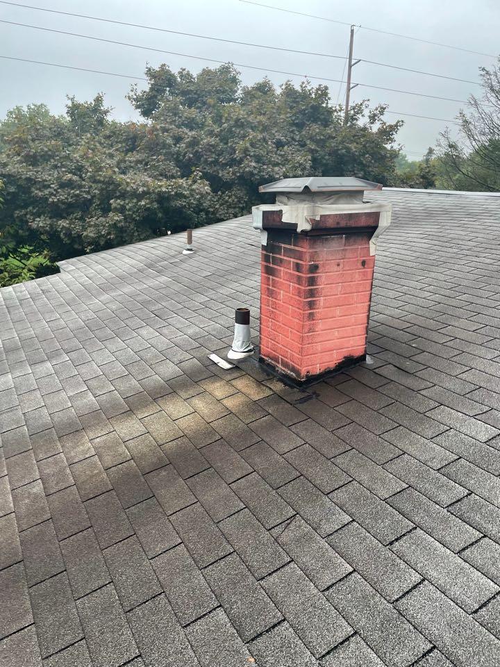 Wilmington, DE - Roof replacement and chimney repair