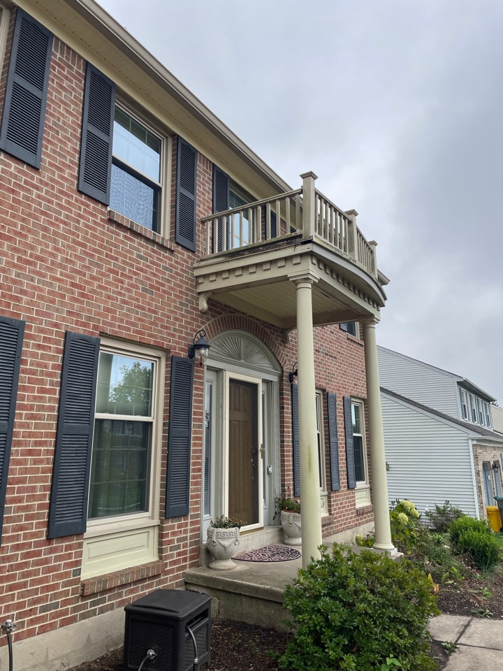 Newark, DE - Porch flat roof replacement