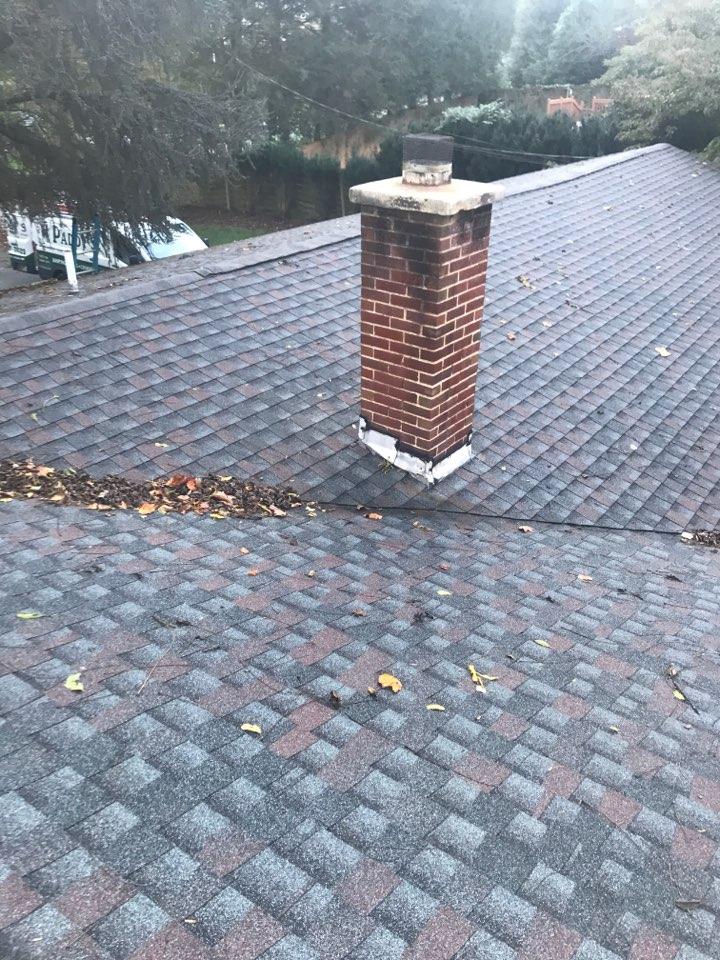 Newark, DE - Re-flashing chimney