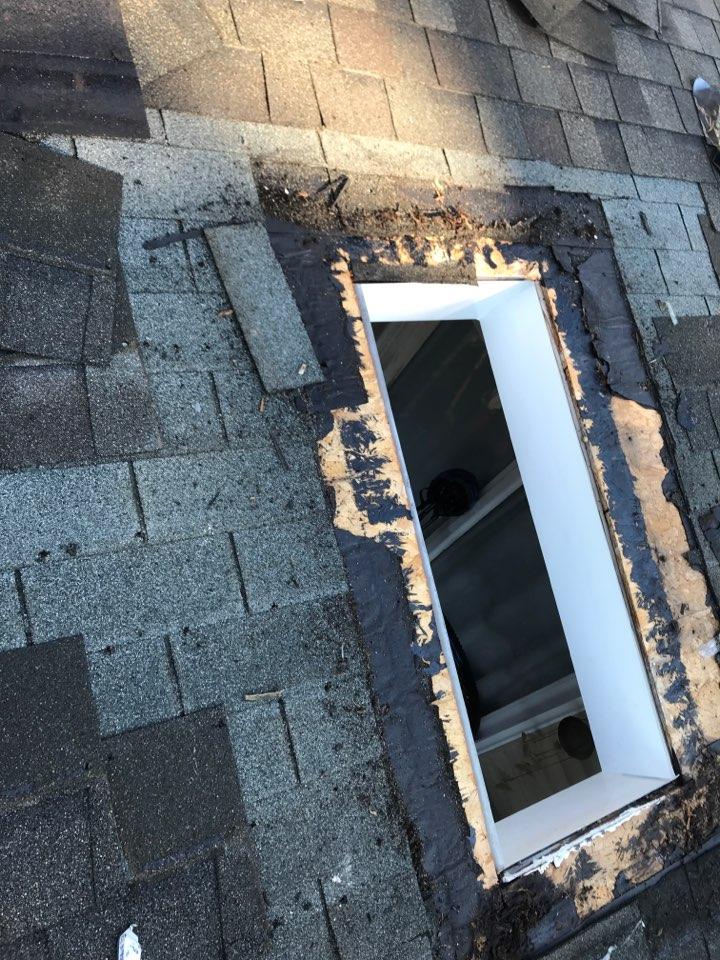Newark, DE - Removing skylights