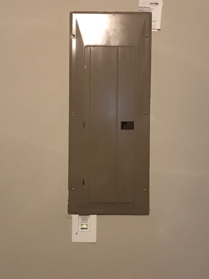 Cumming, GA - Installation of a whole house surge protector