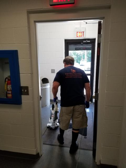 Employee training who by the way is a military vet tce cleaning commercial cleaning services near me janitorial services near me top cleaning services near me High Point Commercial cleaning services best commercial cleaning company