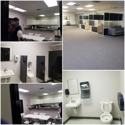 Jamestown, NC - We have various crews finishing up commercial cleaning shifts tonight. We are leaving offices and buildings squeaky clean, so that office managers and building managers don't have to worry about it in the morning.top commercial cleaning serve in Jamestown
