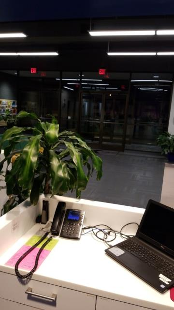 Stokesdale, NC - Spotless lobby as always when it comes to TCE. We dust, clean the glasses and mirrors with glass cleaner, spot mopping the floors where there is any dirt, remove the trash, and make sure the lobby is secure.