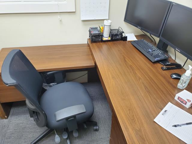 Cleaning of desk phones computer screen keyboard carpet dust in a weekly office building #high point #greensboro #kernersville #top service #near me #customer #service #furniture #google #commercial #janitorial