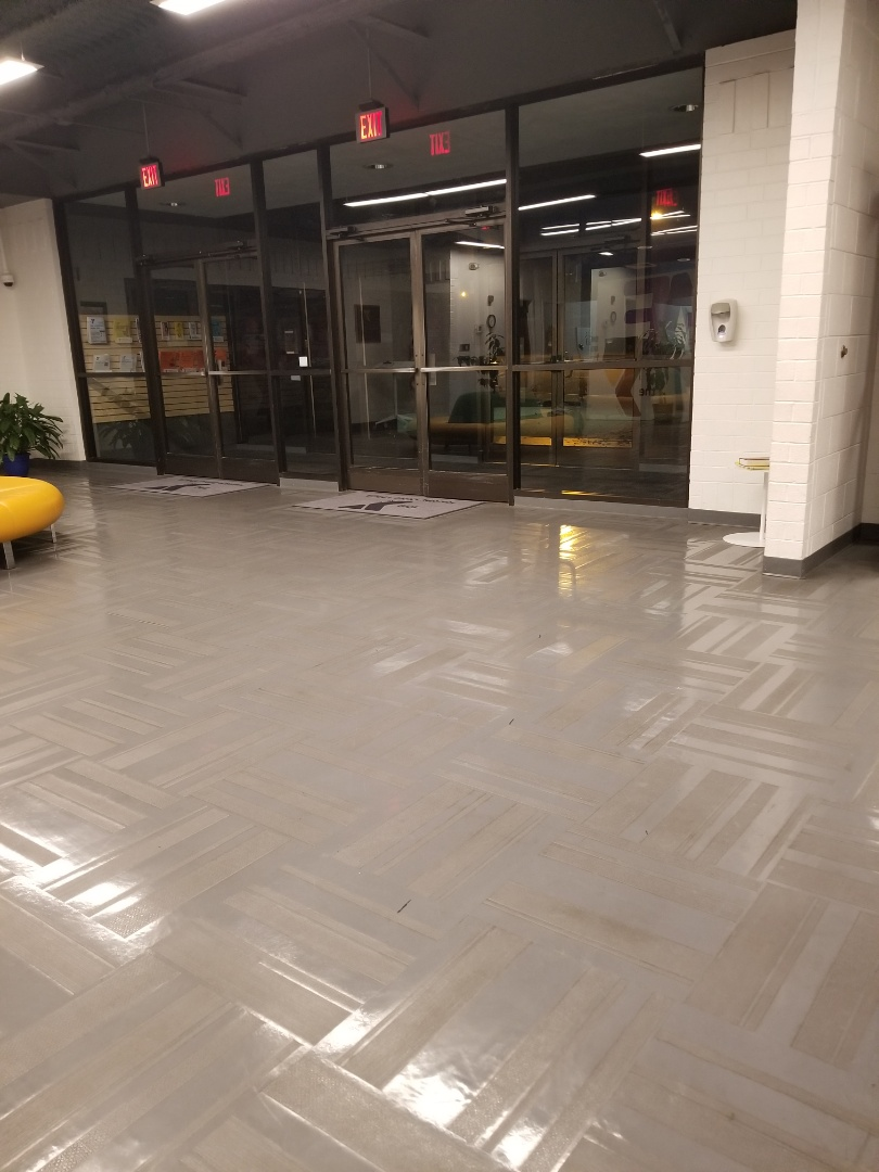 Floor maintenance at a large commercial facility janitorial services in High Point #janitorial #dayporter #services #top #google  #reviews #Greensboro #Kernersville #janitorial #tcecommercialcleaning #2021