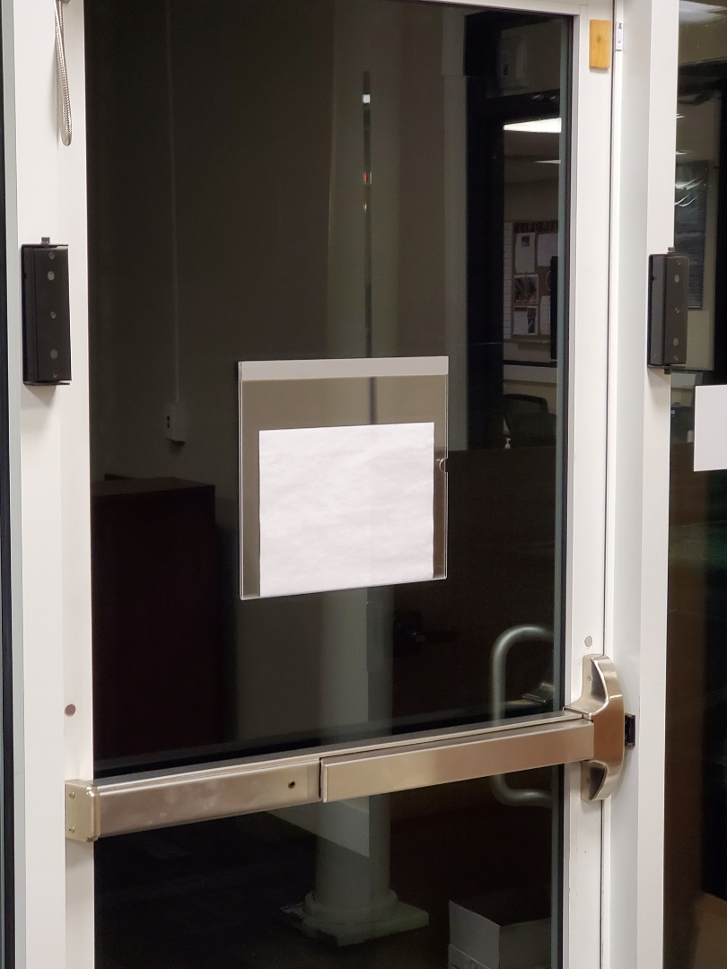 Office building cleaning where we clean glass door handles kick plates and dust for cobwebs #tcecommercialcleaning #janitorial #commercial #services #fivestar #commercial #janitorial #cleaning #google #near me