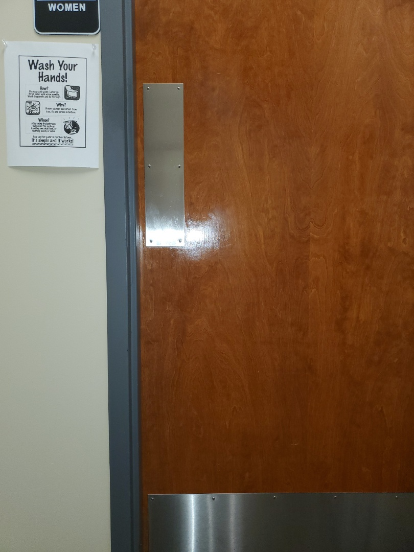 Initial deep clean for a commercial account where we make door and kick plates shine #janitorial #commercial #clean #tcecommercialcleaning #google #bestcleaningcommercial #janitorial #dayporter #Greensboro