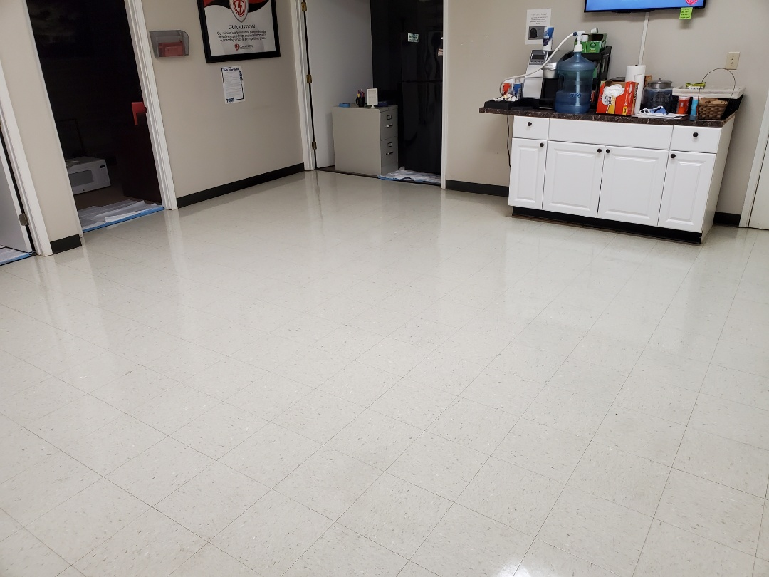 This floor is all done strip and wax at its finest by TCE Commercial Cleaning #janitorial #google #dayporter #best #tcecommercialcleaning #janitorial #2021