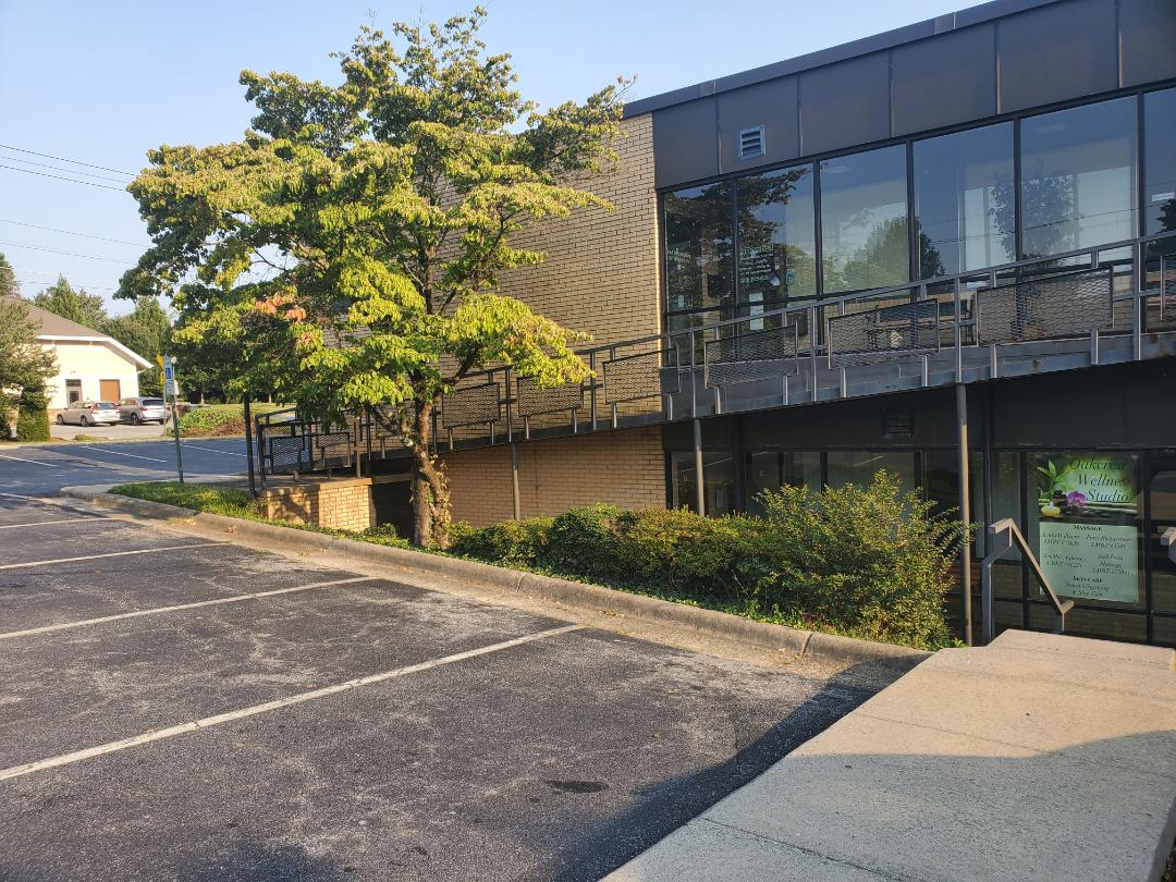 Electrostatic spraying at an office building in High Point. We also do maintenance cleaning one time a week #tcecommercialcleaning #cleaning #Google #reviews #five-star #commercial #floor maintenance #Greensboro #Highpoint #Triad #dayporter #janitorial