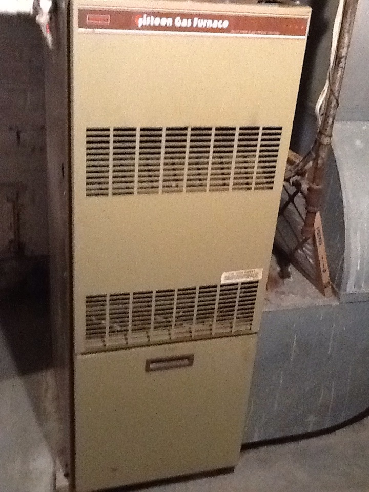 Pittsburgh, PA - Signature Agreement heating check up on Sears furnace.