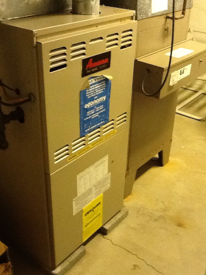 Pittsburgh, PA - Plus Agreement heating check up on  Amana furnace and Aprilaire 600 humidifier.