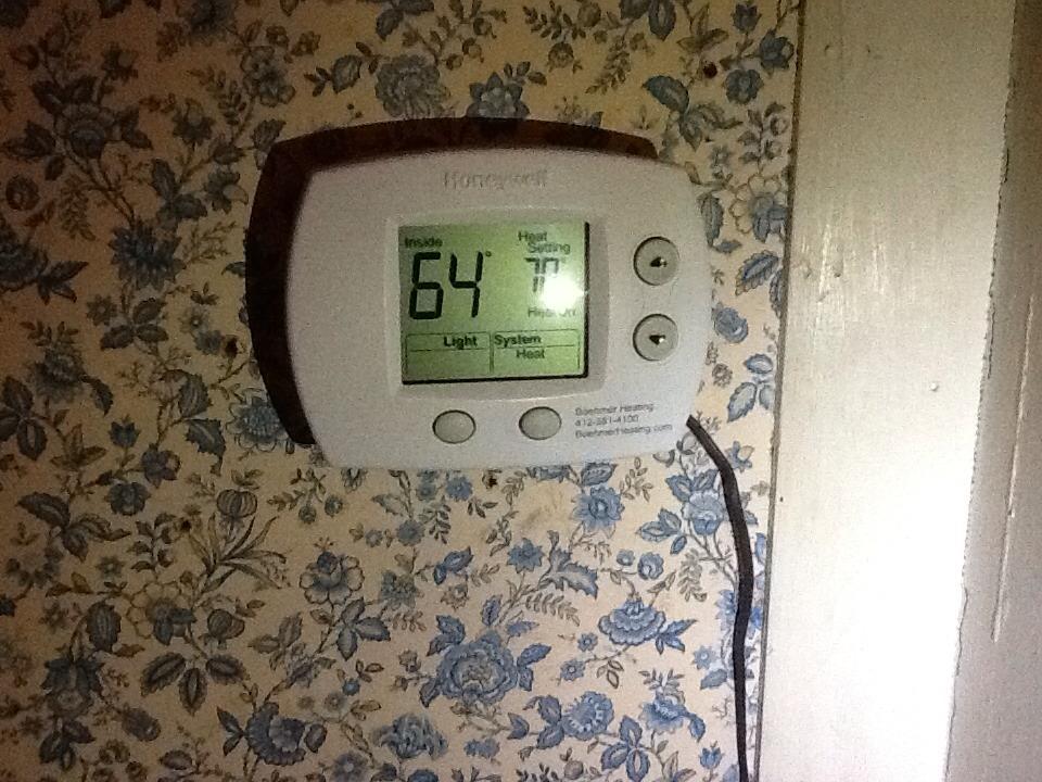 Leechburg, PA - Agway no heat call on Ducane furnace.