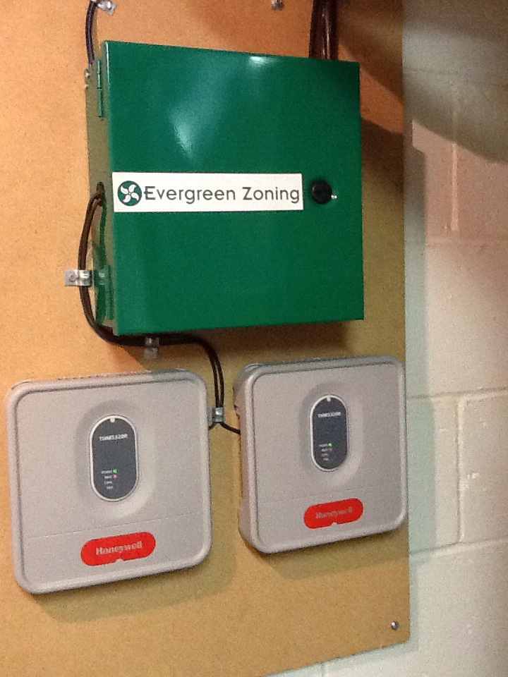 Pittsburgh, PA - Replace control board on Arzel zoning system.