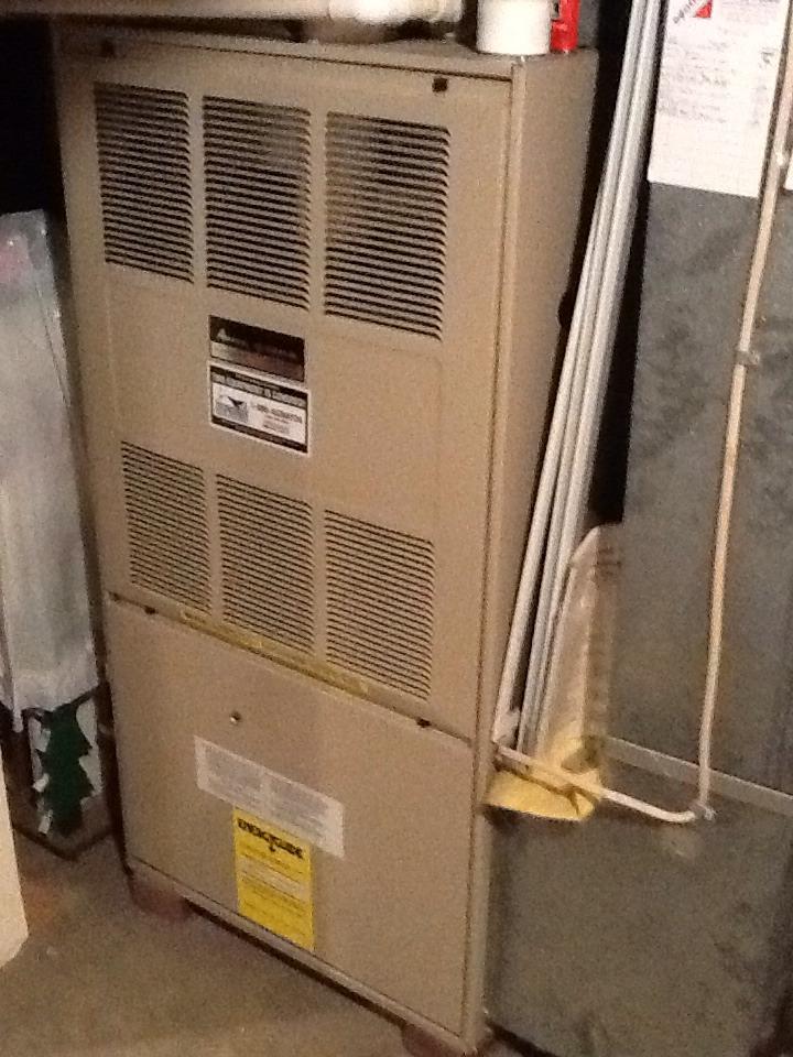 Monaca, PA - Plus Agreement heating check up on Amana furnace.