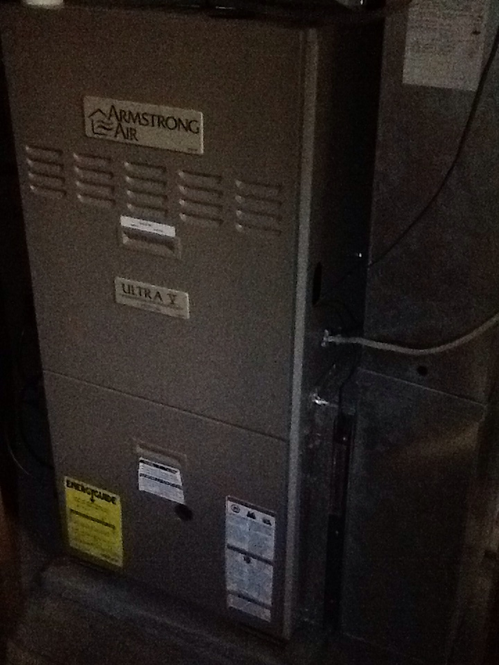 Coraopolis, PA - Plus Agreement heating check up on Armstrong furnace.