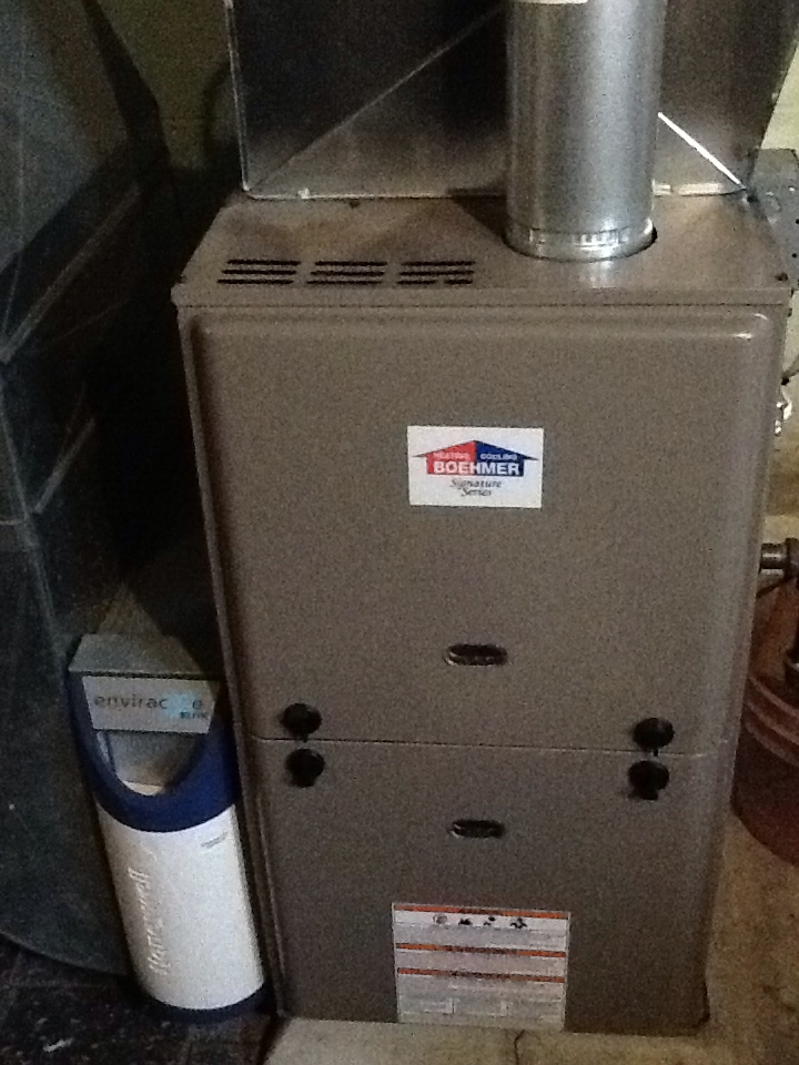 Pittsburgh, PA - Plus Agreement heating check up on a Boehmer furnace.