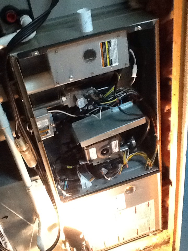 Cheswick, PA - Complete precision tune up of high efficiency BRYANT furnace in Fox Chapel.