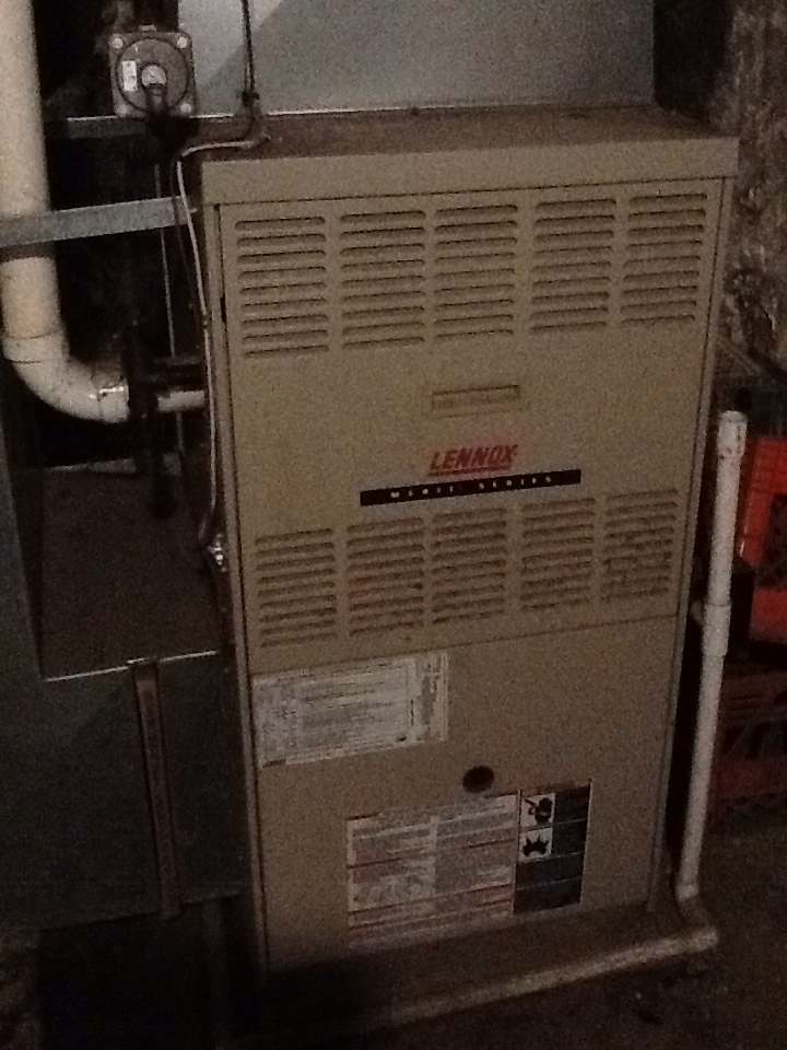 New Brighton, PA - Agway no heat call on a Lennox furnace.